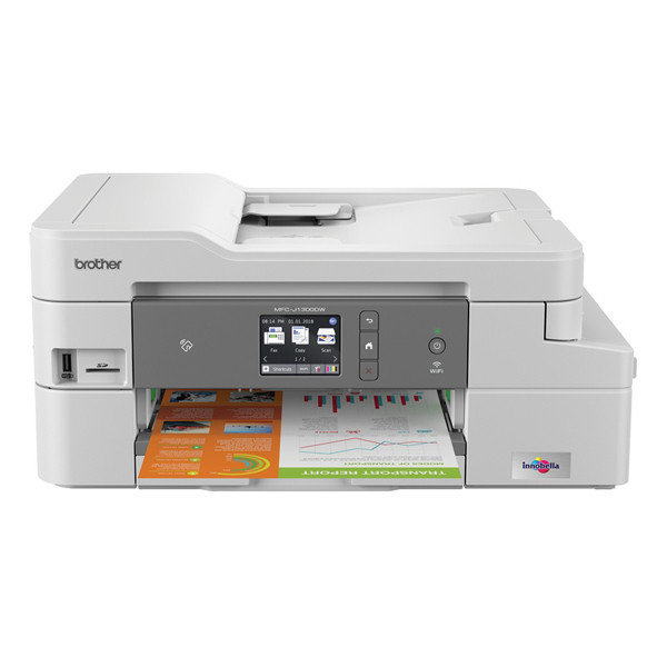 Brother Mfc J1300dw Draadloze All In One Inkjetprinter